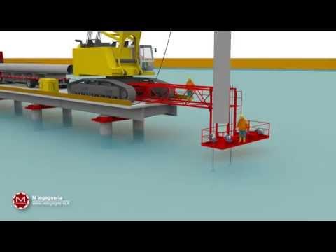 WHSD Temporary Flyover erection method