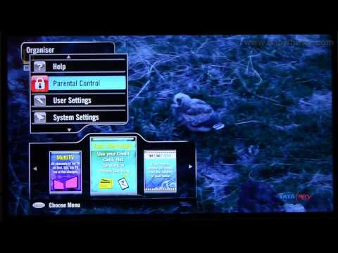 TataSky + HD DTH - How To Restrict A Channel With Parental Control