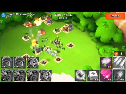 Boom Beach Battles - IUTA vs Stepa - Boom Beach