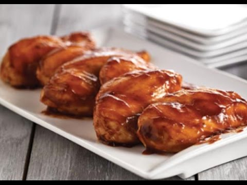 Chicken Breasts Easy Oven Barbecue