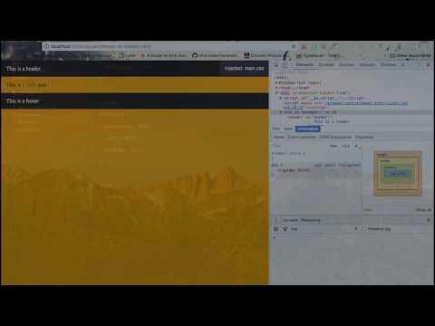 HTML/CSS Footer at Bottom