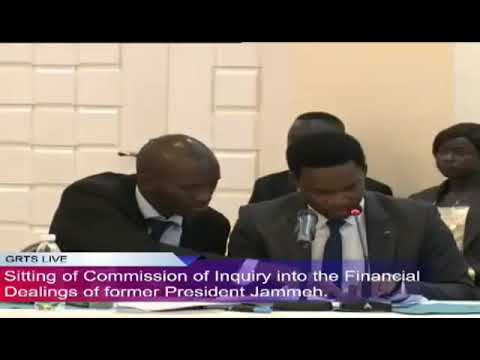 Skye Bank Director Mr Adedoyin Testifies At The Commission Of Enquiry