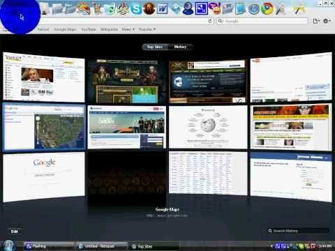 how to make top sites home page in safari!!!!