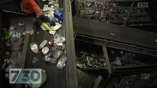 A recycling system in crisis as China bans imports