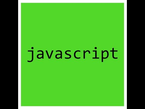 Introduction to Javascript Server Technologies course