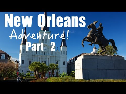 New Orleans Part 2 Jackson Square, French Quarter, Beignets, Jazz and Bourbon Street