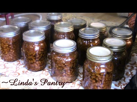 ~Home Caning Pork & Beans With Linda's Pantry~