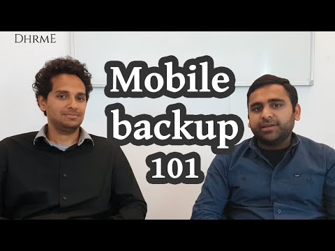 How to backup iPhone and Android contacts, photos and videos | DHRME #4