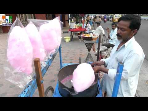 SUGAR CANDY PLUS | TRADITIONAL INDIAN CANDY | 4K VIDEO street food