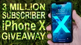 3 Million Subscriber Giveaway! iPhone X, Galaxy S8, DJI Spark!