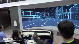 CES 2017 - Autonomous Driving - Future of Cars? [Hyundai Mobis]