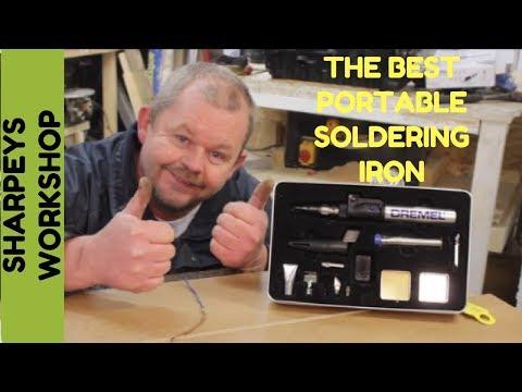 Portable soldering torch iron Dremel versatip review