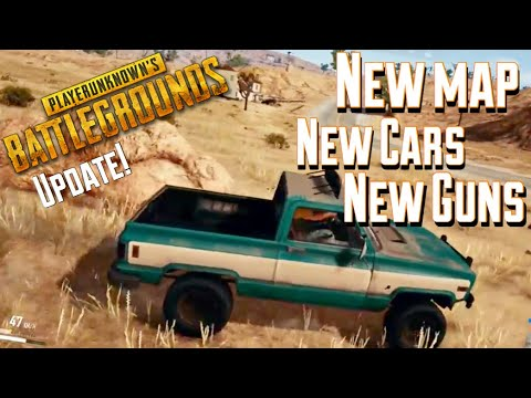 PUBG NEW Update | New Desert Map, Guns, and Vehicles (Win Gameplay!)