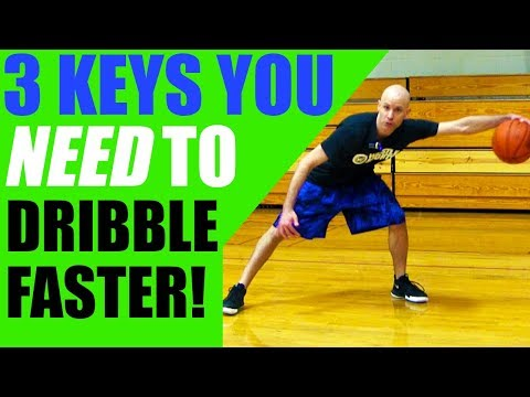 How To Dribble A Basketball FASTER! Get Better Handles In Basketball