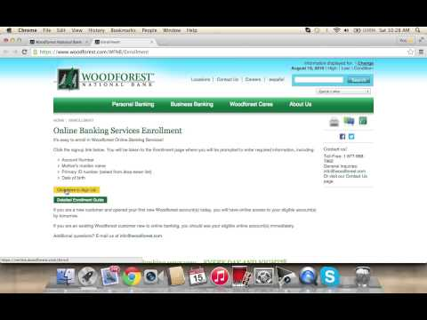 Woodforest National Bank Online Banking Login | How to Access your Account