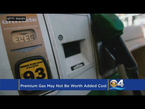 AAA Study Finds Premium Gas Not Always Worth The Price