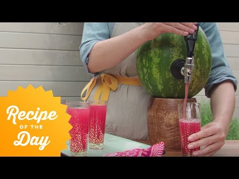 How to Win Summer: Tap a Watermelon Keg | Food Network
