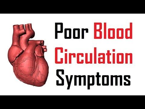 11 warning signs of poor blood circulation | poor blood circulation symptoms