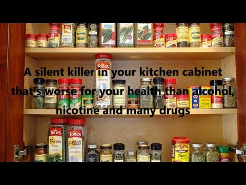 A silent killer in your kitchen cabinet that's worse for your health than alcohol, nicotine and many
