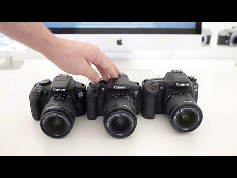 Canon 80D vs T6i vs T6 - Which Canon DSLR should you buy?