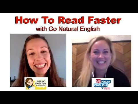 Improve Fluency with Reading: With Go Natural English [Interview]