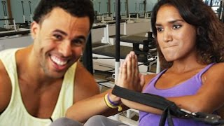 Fitness Professionals Try Pilates