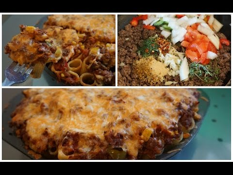 What I Ate Today: Delicious Baked Beef Rigatoni Pie Recipe