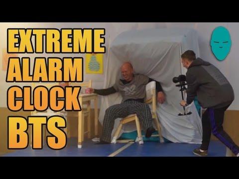 Extreme Alarm Clock Behind the Scenes | Damien Walters