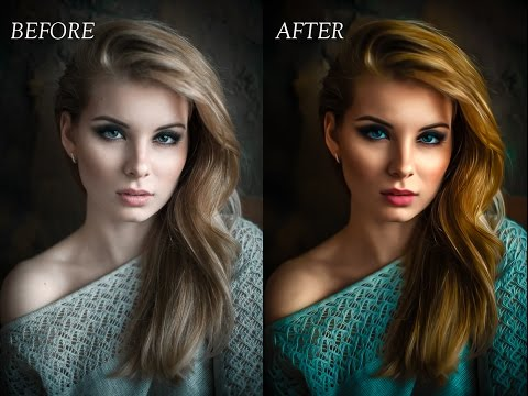 Oil Painting Smudge Photo Effect | Photoshop Tutorial