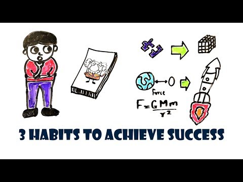 Follow these 3 habits to become successful! (BEST WAYS)