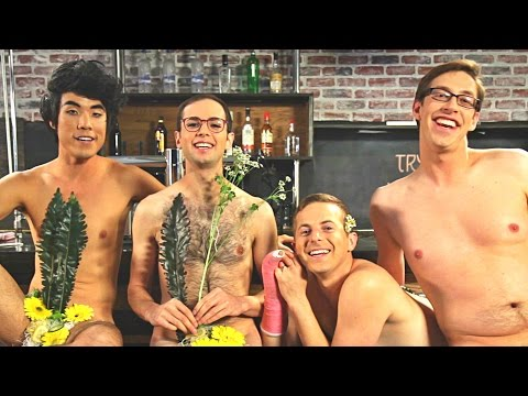 The Try Guys Naked Sushi Prank