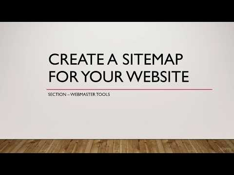 Create A Sitemap For Your Website