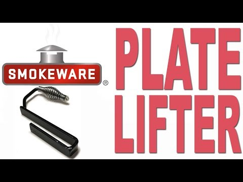 Smokeware's Plate Lifter for the Big Green Egg