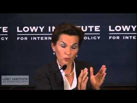 Climate Change- Lowy Lecture Series:  Global action on climate change - Christiana Figueres
