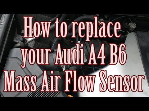 How to replace your Audi A4 B6 Mas Air Flow Sensor MAF
