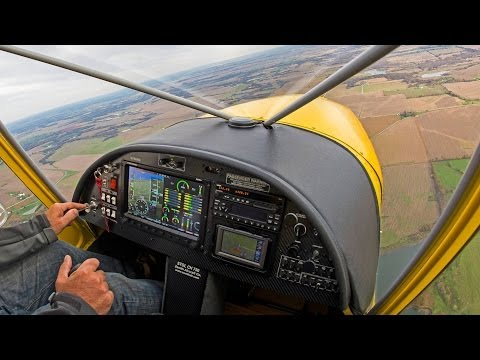 Sport pilot flying: STOL CH 750 with SkyView glass panel