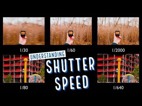 Shutter Speed Tutorial