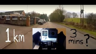 Interval Training Running 1 Km In 3 Minutes Gopro Training For A 17 M
