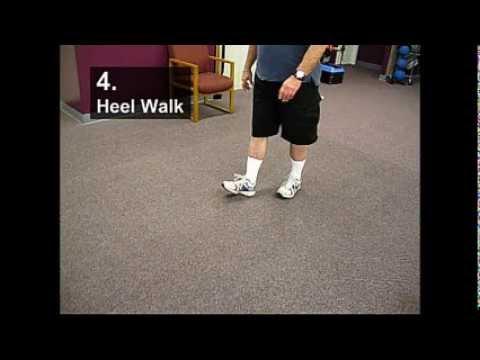Fall Prevention Exercises (Balance Series) - Heel Walking