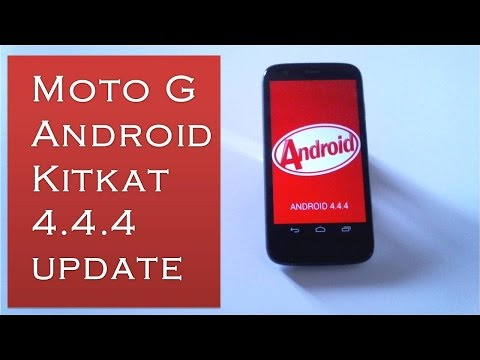 Moto G Android Kitkat 4.4.4 Update