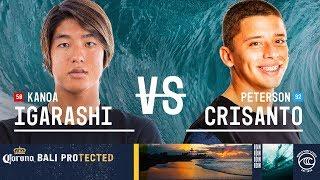 Download Kanoa Igarashi vs. Peterson Crisanto - Round of 32, Heat 15 - Corona Bali Protected 2019 Video