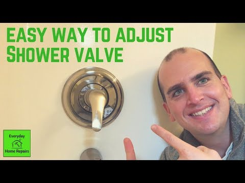How to Increase Water Temperature for a Delta Shower Valve