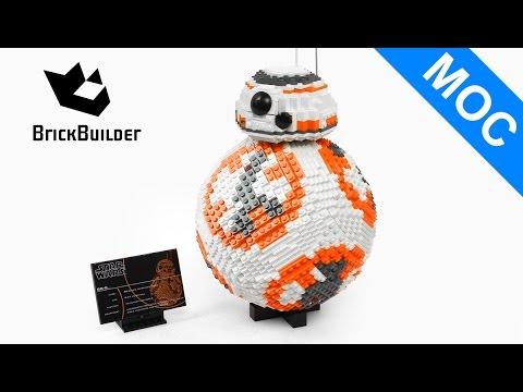 Lego MOC Star Wars UCS BB-8 - Lego Speed Build