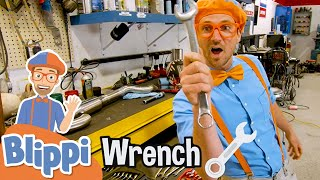 Blippi Visits an Auto Body Shop   Learning Tools & Vehicles For Kids   Educational Videos