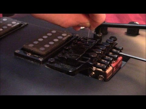 How to Restring a Floyd Rose