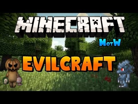 Minecraft | EVILCRAFT MOD! (Werewolves, Blood Magic & More!) | Mod of the Week #2