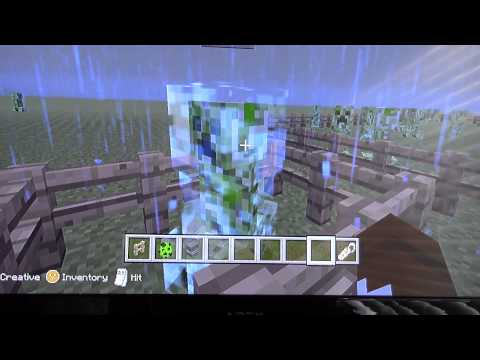 Minecraft Xbox- Charged Creeper