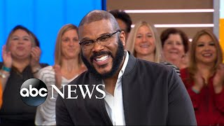 Tyler Perry opens up about