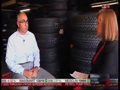 Sumitomo Rubber South Africa CEO Riaz Haffejee - Key Topics in the Tyre Manufacturing Industry