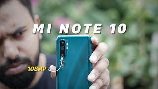 Mi Note 10 First Impressions: The 108MP Phone!